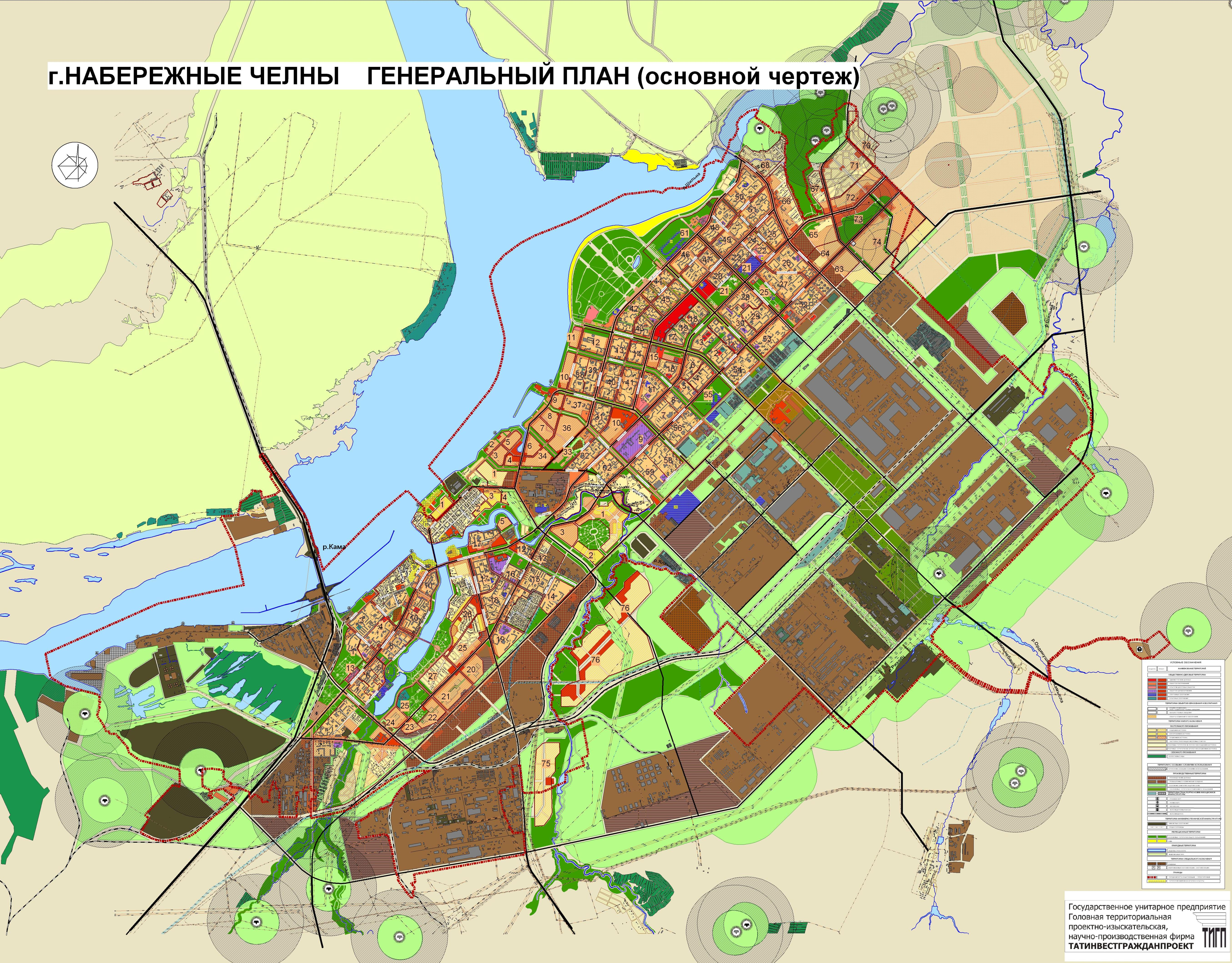 казань генплан города схема застройка план