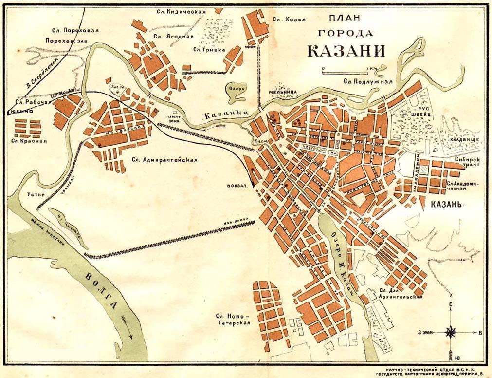 Карта схема города казань 314