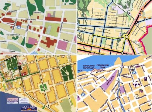 В раздел Схемы городов