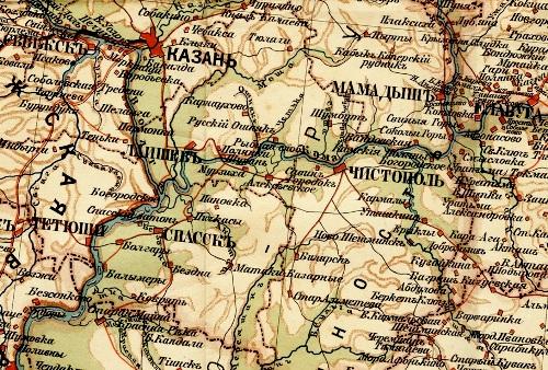 Карта издавалась в СПб