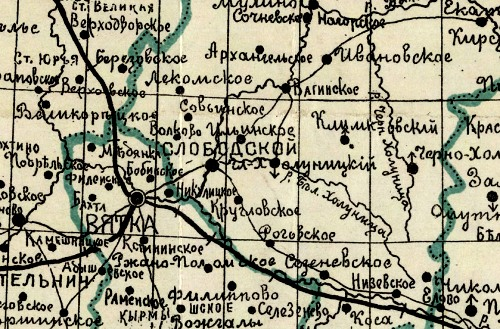 Антикварная книга: генеральная карта витебской губернии